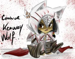 :AC3: Chibi Alternative Outfit Connor :: by Lanzio