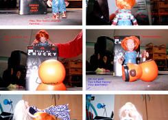 Chucky and the Giant Chips by NaKaya