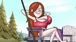 Wendy at the pool by FatandBoobies