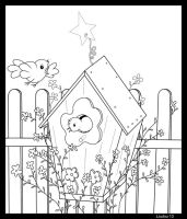 Bird House by Loulou13
