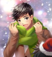 Christmas gift for Tadashi by mabong1989