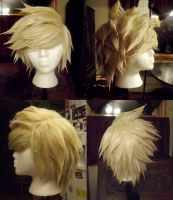 Wig Commission - Dirk Strider by ElliotCosplay