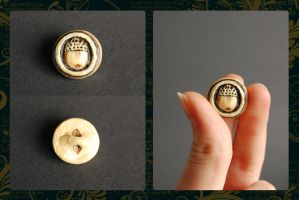 Hobbit Adventure Charm - Bilbo's button by theandro