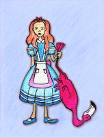 Stacy Rowe Alice in Wonderland by SavvyRed