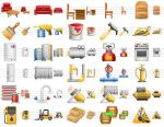 Perfect Warehouse Icons by mikeconnor7