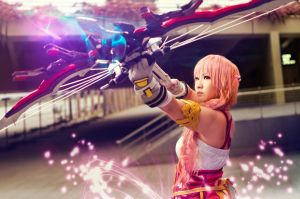 Final Fantasy XIII-2 - Serah Farron by crystalfirey