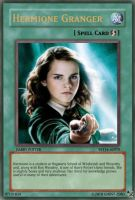 Yugioh cards Hermione Granger by ghost-zero