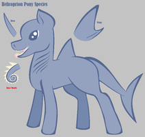 Helicoprion Pony Species ~ Semi OPEN species by NeverSilver
