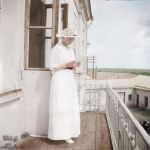 Maria in 1916 ~ colored photo by natsafan