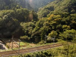 Japanese Countryside 1 by SuperPope