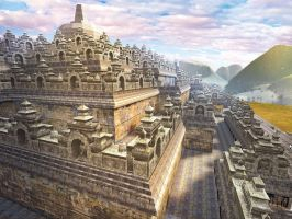 Garuda Game Studio's Borobudur by dezygn