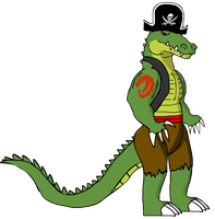 Tyrant - The Captain of Croco Pirates by KingAsylus91