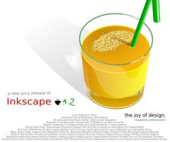 Inkscape About Screen Contest by andremarcel