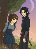 Sena and Takeru by Reenigrl