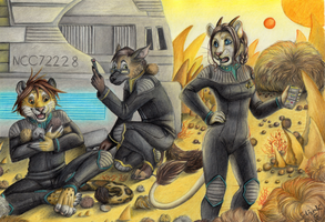 tribble trouble by Schiraki