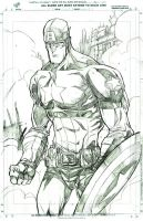 Captain America by JohnTimms