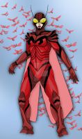 Earth 2 Red Bee by Needham-Comics
