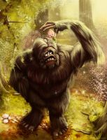 Bigfoot Littlefoot by swifty1988