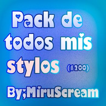 Pack de stylos(1200) by miruscream