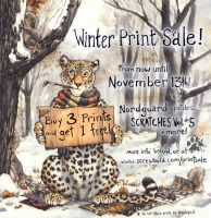 Winter Print Sale, now until Nov 13th by screwbald