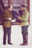 Tsar Nicholas II and Count Fredericks by KraljAleksandar