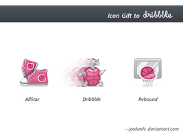 icon gift to dribbble by jordanfc