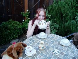 Child's Tea Party 2 by Gealach