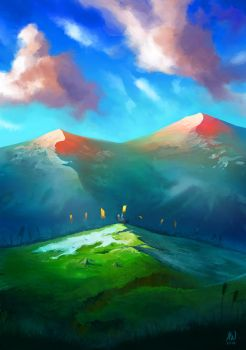 Mountains by artimac