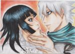 Commission: Hitsugaya and Soi Fong by NeoAngeliqueAbyss