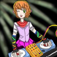A random DJ girl by jadza54