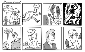 Aquaman Comix by InfiniteBadness