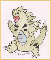 Tyranitar by WalkerP