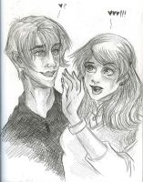 Draco and Susan, HP RPG by AmberPalette