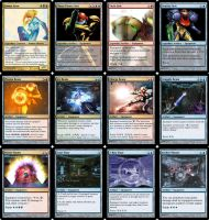 Metroid Set - MTG Cards by Warrior-Within