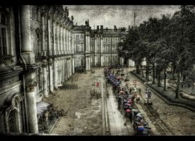 River of Umbrellas II HDR by ISIK5
