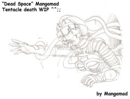 Dead Space Tentacle Death WIP by Mangamad