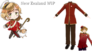 New Zealand WIP for Prance by Nodiel-71
