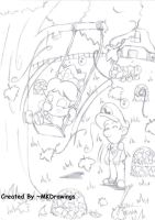 Love in Maple Treeway by MKDrawings