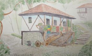 Bulgaria traditional house by AlexLehner