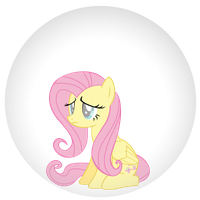Fluttershy Trapped by AuburnBorbon