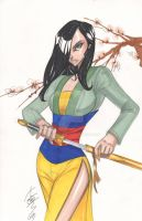 Mulan by Hodges-Art