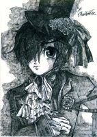 Ciel Phantomhive by 99scribbles