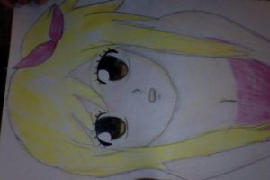 Lucy Heartfilia pencil sketch by MacelLawliet