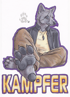 Badge- Kampfer by CanineHybrid