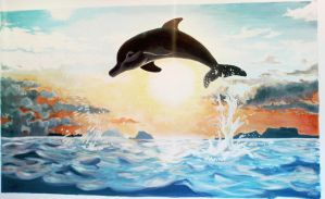 Dolphin by AllyEdFrown
