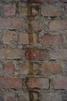 brick wall by SnowChichiStock