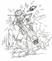 Clone Trooper Sniper Concept by Tribble-Industries
