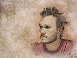 Heath Ledger - In memoriam by aquario86