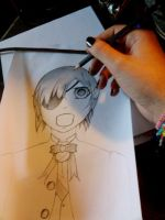 I'm drawing Ciel Phantomhive by Radijs-Dalfo