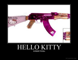 Hello Kitty AK47 by Lovett91